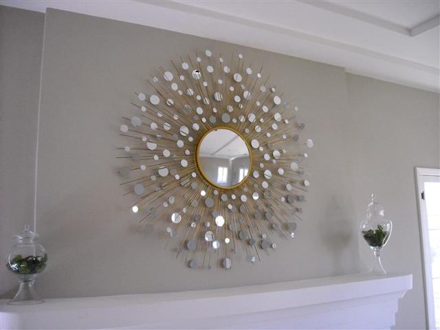 Awesome Decorating Mirrors Living Room Walls